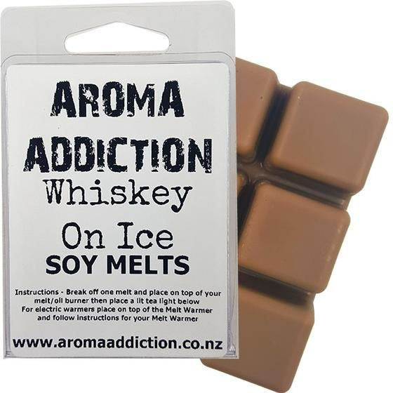 Whiskey On Ice Scented Soy Melt Pack - Scented melts - Aroma Addiction- - 1