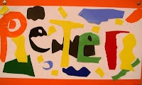 Matisse Inspired Name Panels