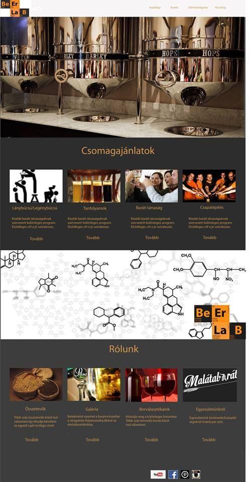 Bóta Renáta - Webdesign