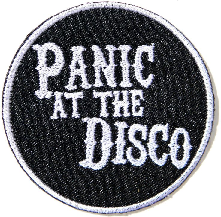 AmazonSmile: Panic At the Disco Heavy Metal Punk Rock Music Band Logo Patch Sew…