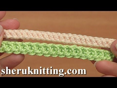 How to Crochet Simple Cord Tutorial 96