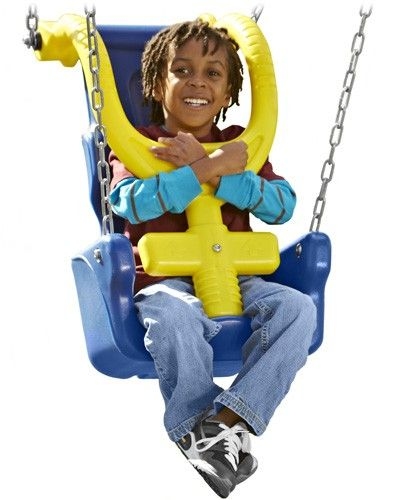 The G Force Swing Seat Is Adaptive Playground Equipment