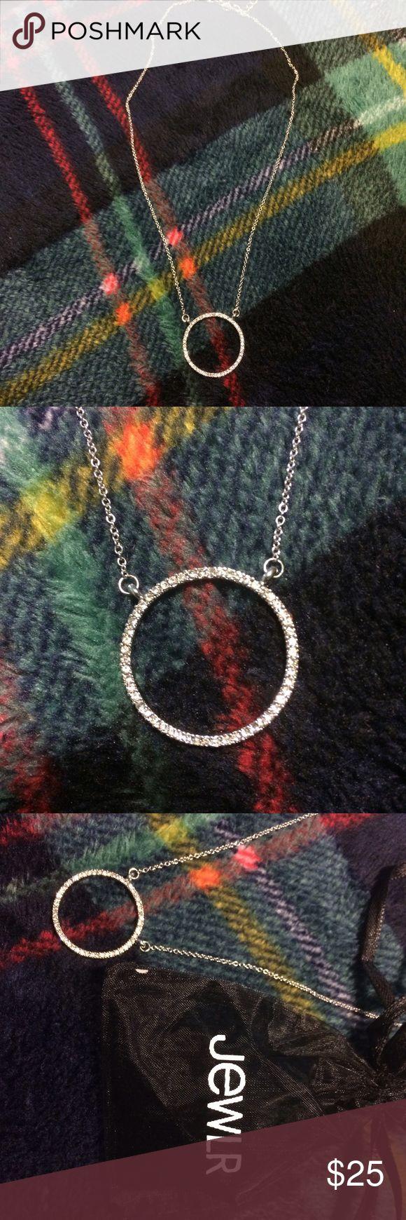 JEWLR swarovski crystal necklace. Brand new, never worn!! Includes original packaging. jewlr Jewelry Necklaces