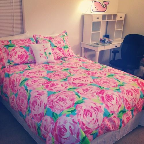 lilly pulitzer bedding and vineyard vines wall decal