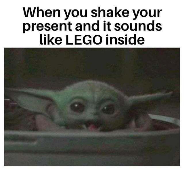 Baby Yoda Lego Christmas Meme Weird Funny Christmas Memes Memeologist Com Babyyoda Christmasmemes Christmas Baby Yoda Meme Yoda Funny Funny Car Memes