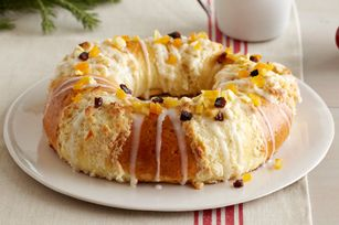 Three Kings Bread recipe -  cream cheese & yeast bread ..yumm