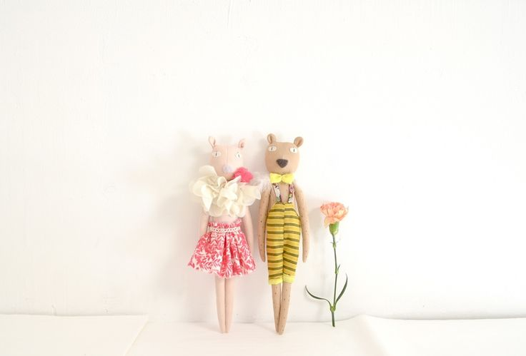 Image of Mrs.Pig & Mr.Bear (last one for each!)