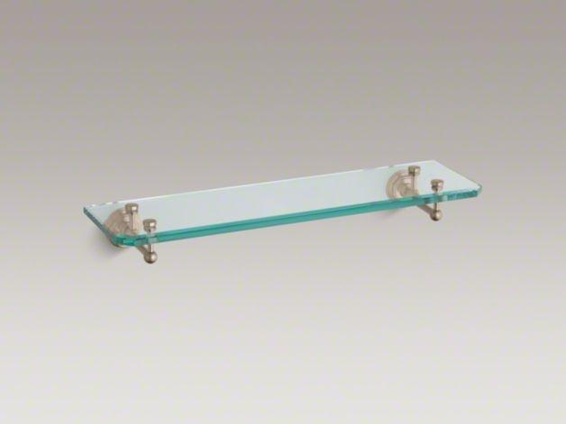 KOHLER | K-13147 | Pinstripe Glass Shelf