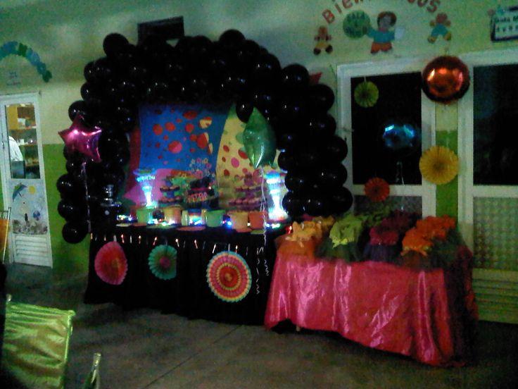 fiesta de neon