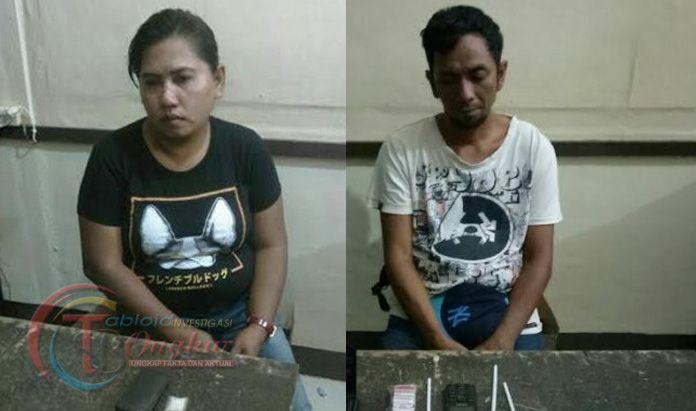 Sopir Taksi Dan Wanita Bawa Narkoba Diamankan Polres Palopo