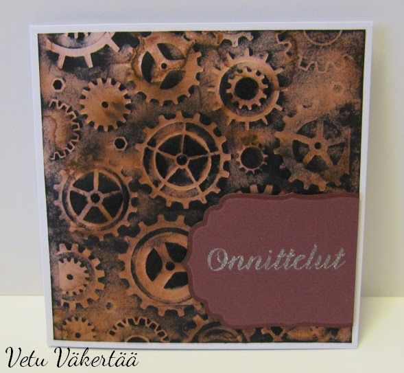 Synttärikortti - Birthday card ofr him