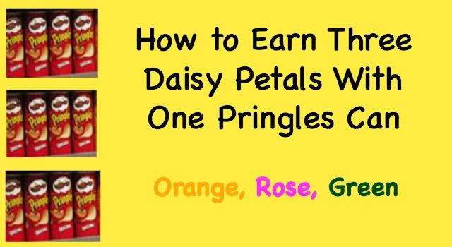 Earn the orange Daisy petal, the green Daisy petal and the rose Daisy petal with this fun and simple activity!