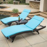Found it at Wayfair - Rio Vista Chaise Lounge with Cushion