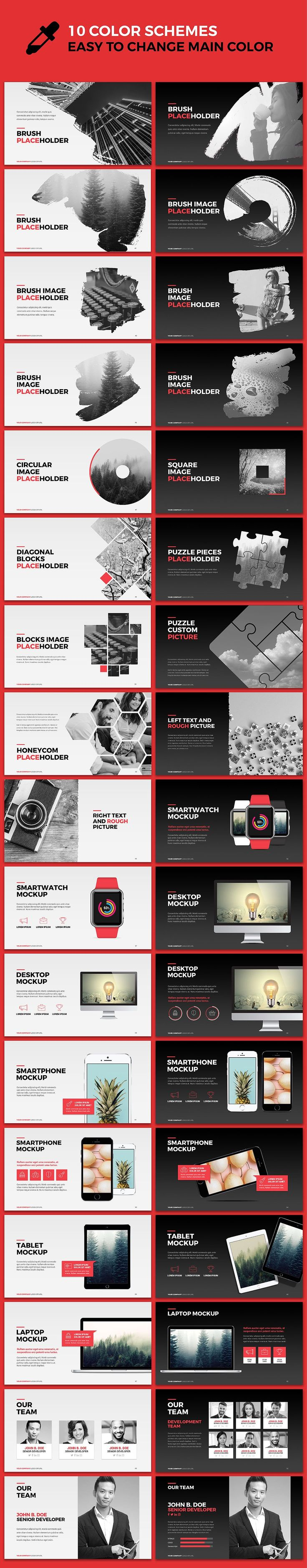 13 best lifestyle presentation templates images on pinterest