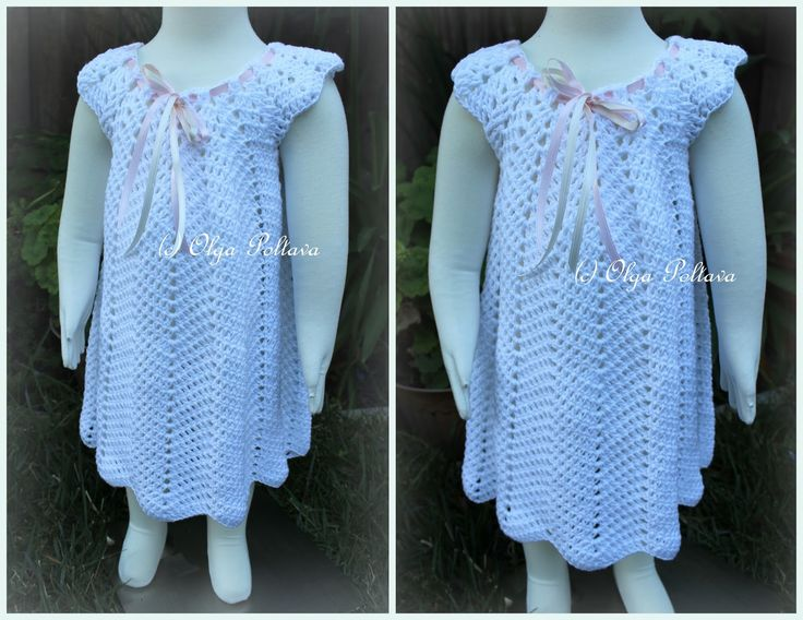 Baby Dress Crochet Pattern Victorian : 1000+ images about Crochet Baby Dresses on Pinterest ...