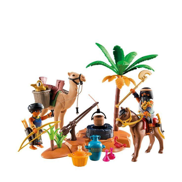 Playmobil Tomb Raiders' Camp Playset - 9166, Multicolor