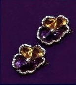 """""""Pansy""""  Brooches - Family jewels of the Duchess of Cornwall"""
