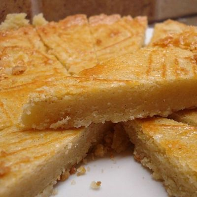 "Boterkoek (Dutch Butter Cake) (the original recippe site became ""infected"" so had to find another !)..Dutch"
