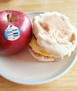 Healthy Breakfast Sandwich!