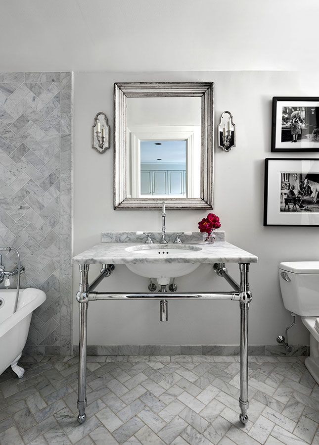 Brooklyn brownstone powder room mcgrath ii