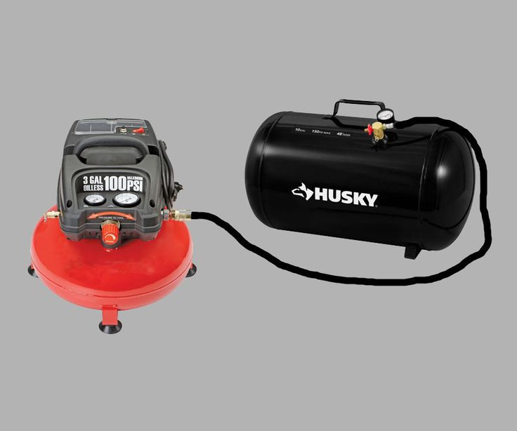 If your small air compressor isn't enough to power your impact driver or other compressor attachments, you don't have to spend a small fortune on a newer and bigger setup. With these simple instructions, I'll show you how to add a larger capacity air receiver tank onto your existing compressor without any welding or tooling.Here's a video to provide a little education on how air receiver tanks work. It's a little promotional but it has a lot of great information regarding the purpose of…