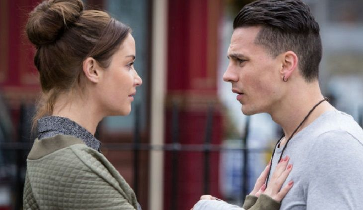 Steven Beale (played by Aaron Sidewell) did something horrific this week, he had unprotected sex with his girlfriend Lauren Branning (played by Jaqueline Jossa) without her knowledge.      The cunning Steven plans an entire day of pampering, flowers, romance even a new dress. Steven is looking
