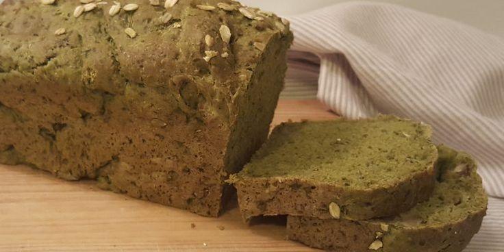 Pan verde de espinacas - Blog Cocina Fácil