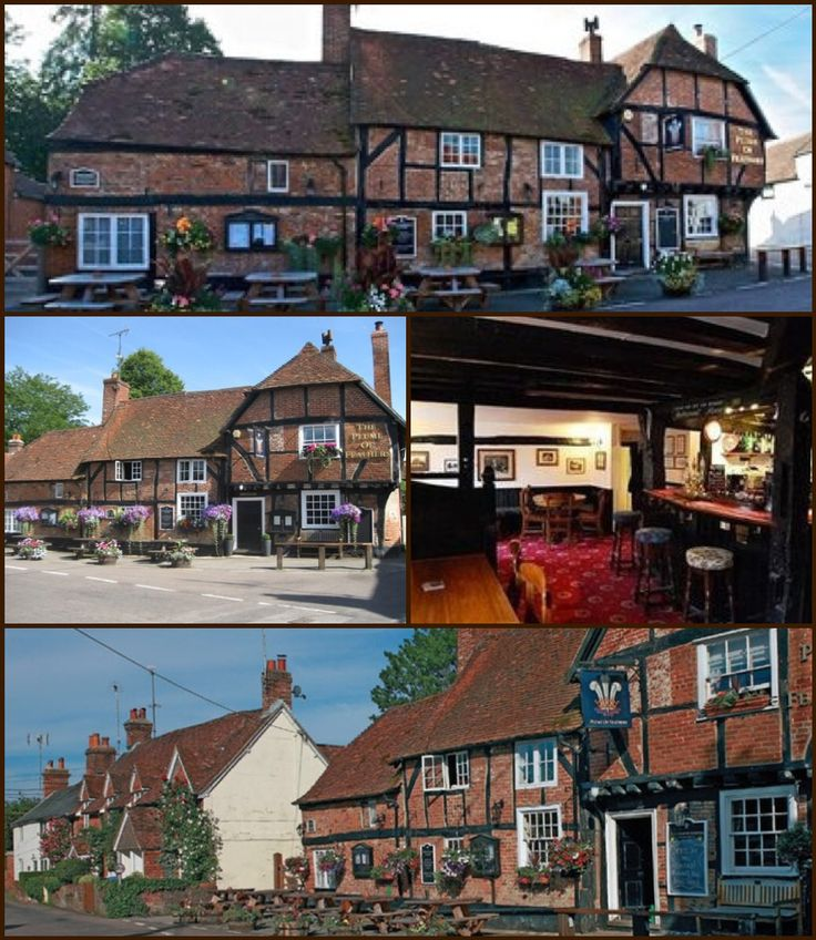 The Plume of Feathers, Crondall Farnham England.