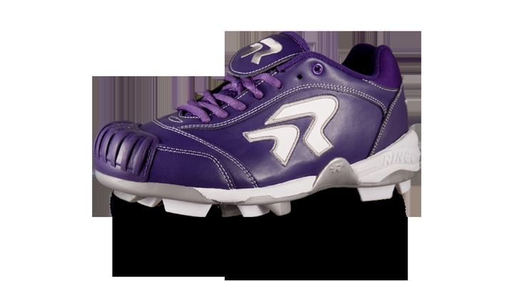 ringor diamond dynasty cleat with protectoes purple