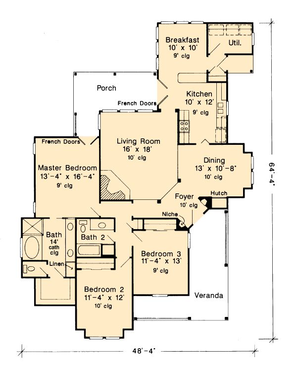 the 54 best images about plans on pinterest | br, country home plans
