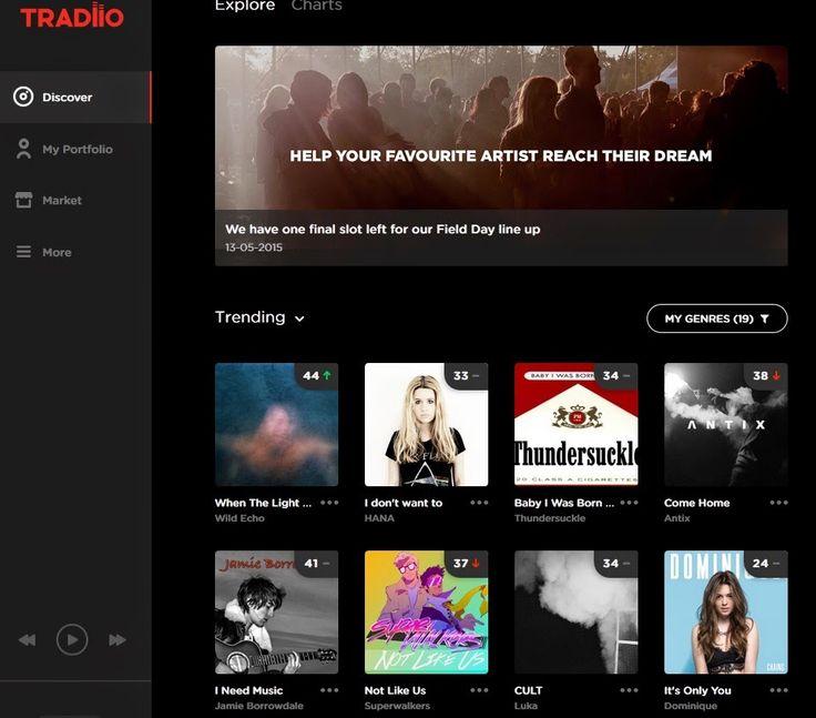 Tradiio Hobi Musik Menjadi Investasi Gratis | Artikel Seputar Bisnis Online