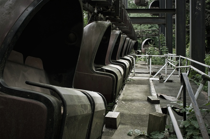 Spreepark, abandoned amusement park in Germany