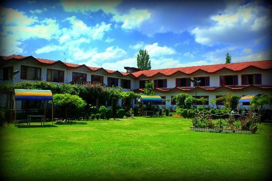 This Resort is gateway of  Dal Lake, situated actually inside the lake, Hotel Lake resort.