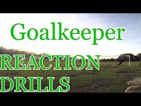 ▶ Goalkeeper training: Reaction drills - YouTube