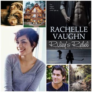 Riley's Rebel, Book 1 of the Bad Boys of Hockey romance trilogy by Rachelle Vaughn #reading #books #hockey #sports #romance #NHL #kindle #nook #kobo #ibooks