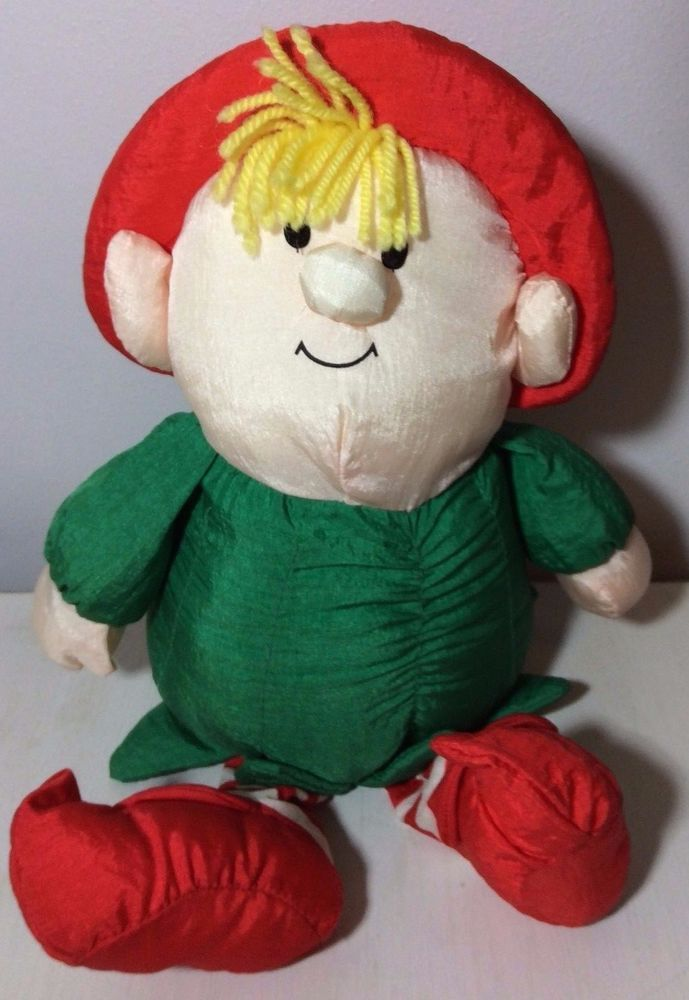RARE Vtg. STUFFINS INC. ISLAND OF MISFIT TOYS PLUSH ELF 14'