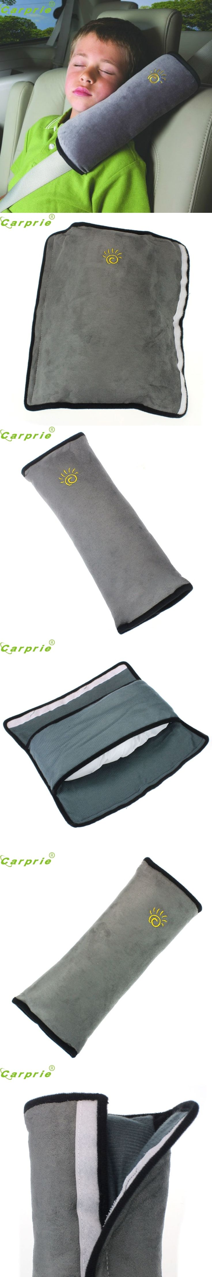 28x9x12cm Baby Children Safety Strap Car Seat Belts Pillow Shoulder Protection Top Quality Micro-suede Fabric Car-Styling Nov 8
