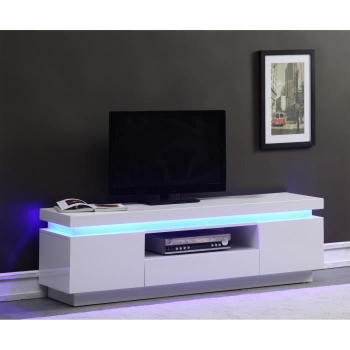 Meuble tv meuble tv pinterest tvs led et entr es for Meuble tv pinterest