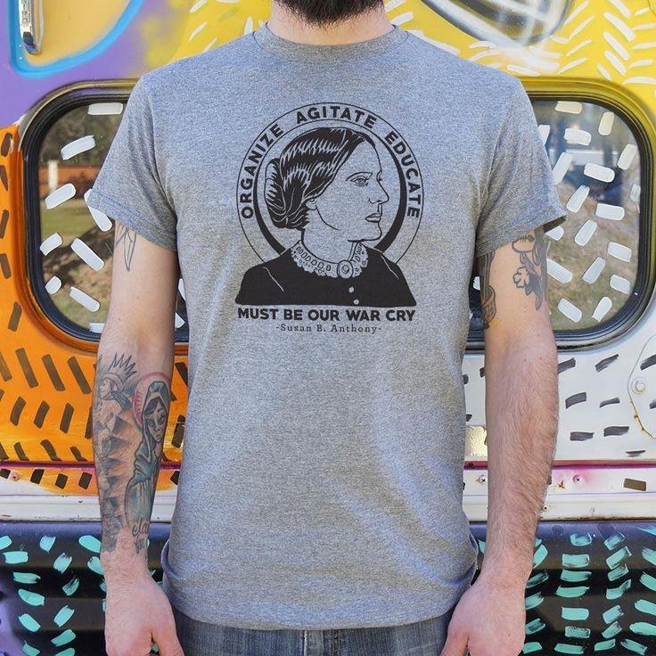 Mens Susan B. Anthony T-Shirt