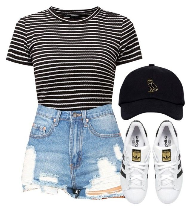V.XIX.MMXVI by justice-ellis on Polyvore featuring polyvore, fashion, style, adidas Originals and clothing