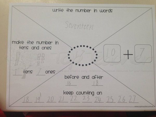 Number think boards (2 and 3 digit numbers) | Teach ...