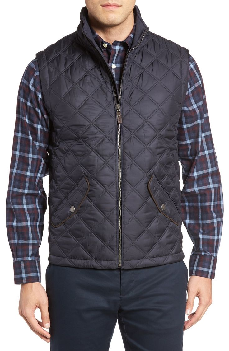 Brooks Brother Diamond Quilted Vest available at #Nordstrom