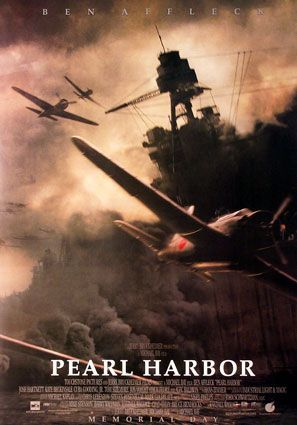 Pearl Harbor-This is a movie poster but daddy, Howard Chester, was actually there that day.  He described it like this movie poster depicts.  He was an awesome dad to me.  Miss him so much.