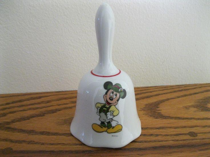Vintage BELL Mickey Mouse - Reutter Porzellan in West Germany- Porcelain ~Disney | eBay