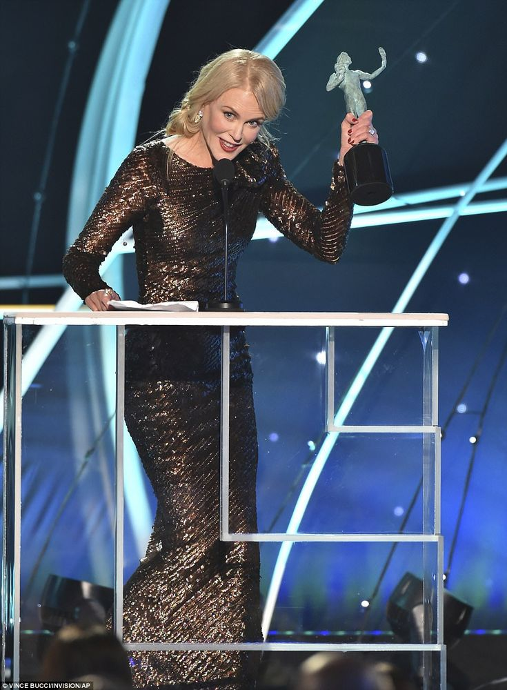 Big little win: Nicole Kidman won Outstanding Performance by a Female Actor in a Televisio...