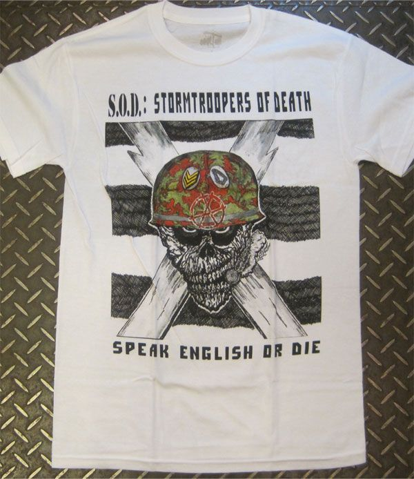S.O.D Tシャツ STORMTROOPERS OF DEATH