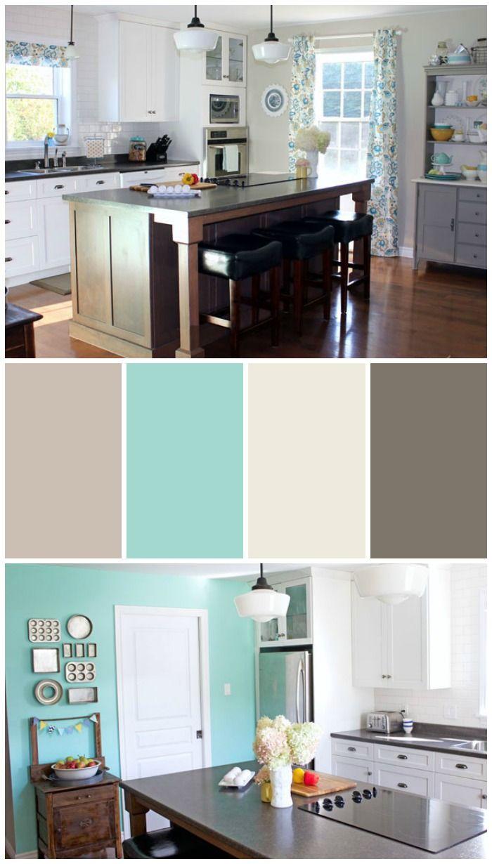 16 best paint colors for kitchens images on pinterest