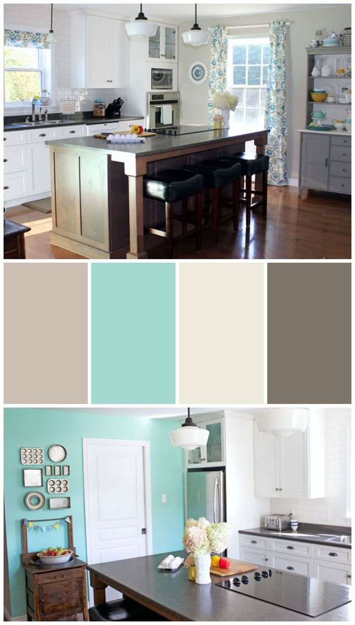 25 best ideas about homey kitchen on pinterest corner - Interesting colors modern kitchen ...