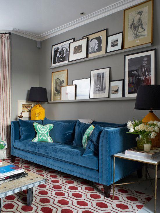 Фотография: Гостиная в стиле Кантри, Интерьер комнат, маленькая гостиная, идеи для гостиной, как выбрать мебель для маленькой гостиной, как визуально увеличить маленькую комнату, идеи декора маленького пространства – фото на InMyRoom.ru