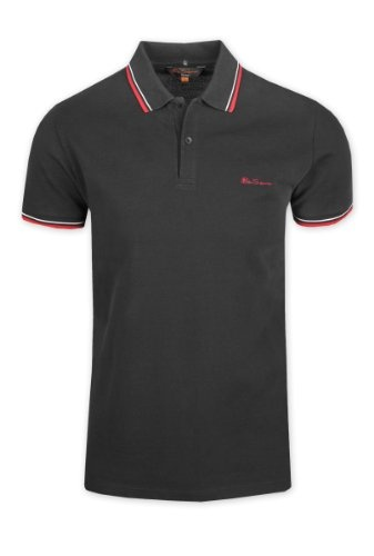 Ben Sherman Romford Polo Shirt - Black - SMALLFrom #Ben Sherman Price: $82.00 Availability: Usually ships in 1-2 business daysShips From #and sold by Fallen Hero Online
